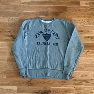 Denim & Supply RL Cherokee Indian Crewneck Sweater